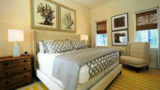 Cottage Bedrooms Yellow And Gray