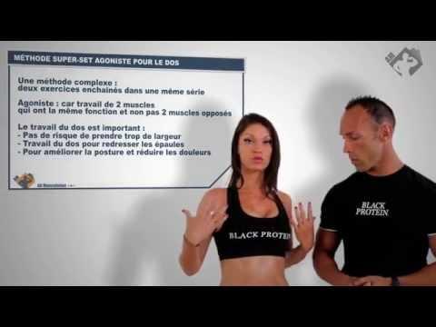 Lensemble de lexercice pour lextension des muscles de 10 minutes