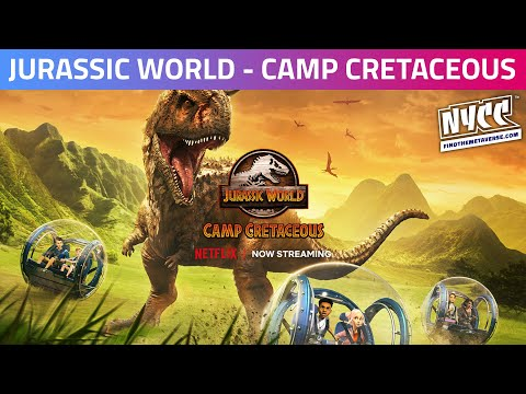 In the Writers' Room of Jurassic World - Camp Cretaceous