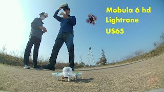 Happy model Mobula 6 hd, Eachine US65, Byrobot Lightrone mini racing fpv drone collection