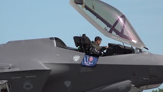 F 35A Lightning II Demo | FL, Melbourne Air & Space Show