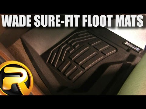 How to Install the Wade Sure-Fit Floor Mats