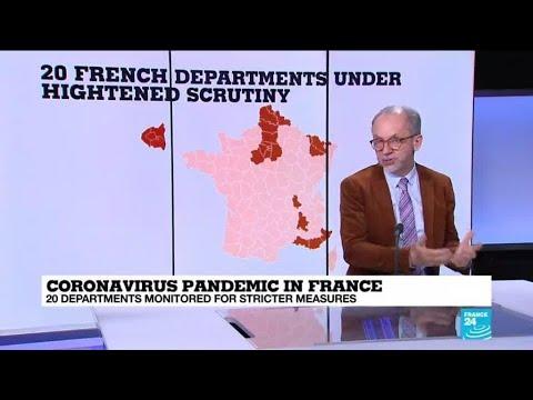 Coronavirus pandemic: France may impose further regional lockdowns in worst-hit areas