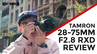 Best Full Frame Zoom Lens For Sony?! | Tamron 28-75mm DI III RXD F/2.8 Review By Georges Cameras