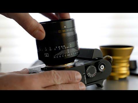Fast 50mm Showdown - f0.95 vs f1.0 vs f2 APO