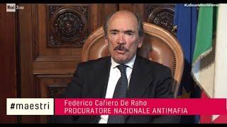 INTERVISTA A FEDERICO CAFIERO DE RAHO, PROCURATORE NAZIONALE ANTIMAFIA E AUTORE DI CONTRASTO ALLA CRIMINALITA' ORGANIZZATA