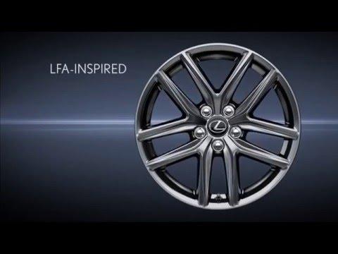 Lexus IS: F SPORT Wheels