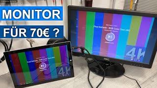 Ein 17 Zoll Monitor von HKC für 70€ ? - mal auspacken und anschließen ;)