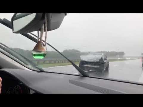 Wideo1: Wypadek na S5 na odcinku Rawicz - Bojanowo