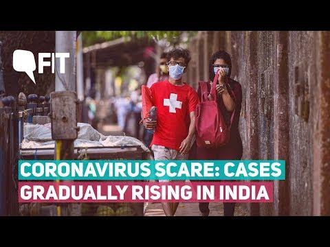 Coronavirus cases rise in India