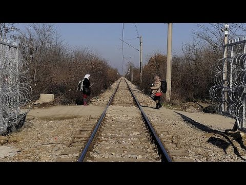 Βαλκάνια: Διέλευση των προσφύγων με βάση τον προορισμό