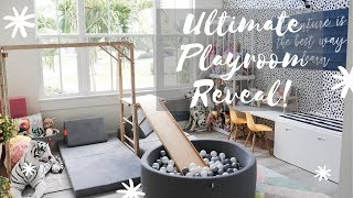 Playroom Reveal | New Home Tour | Under The Stairs Playhouse