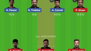 AT VS NMP MUMBAI T20 LEAGUE MATCH DREAM11 TEAM HALAPLAY PLAYING11, NMP VS AT MATCH PREVIEW TEAM NEWS