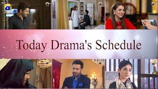 Today at HarPal Geo - Drama Schedule - Bechari Qudsia, Dour, Rang Mahal