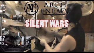 "Arch Enemy ""SILENT WARS"" DRUM COVER by Christian KRISHATE 