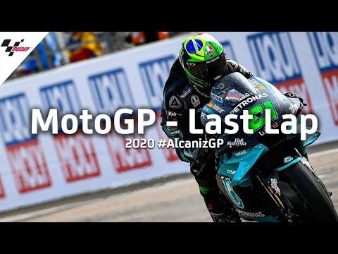 バトルはないが大きなミスをしたら逆転されてしまう緊張感のあるラストラップの様子を捉えた動画。MotoGP テルエルGP