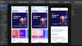 Design For IOS 13: UI Kit In Sketch