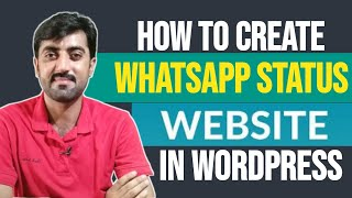 How to Create Whatsapp Status Website in Wordpress - Whatsapp Staus Quotes / Images Website in WP