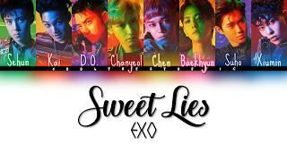 EXO (엑소) - Sweet Lies Color Coded Han/Rom/Eng Lyrics