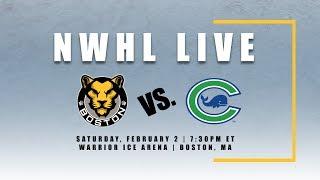 NHWL Live: Connecticut at Boston 02.02.19