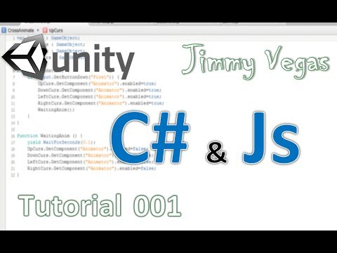 Learn How To Code In Unity – C# & Js – Tutorial 001 – The Basics