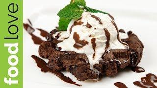 Мега-шоколадные вафли в мультипекаре REDMOND | Десерты | FoodLove
