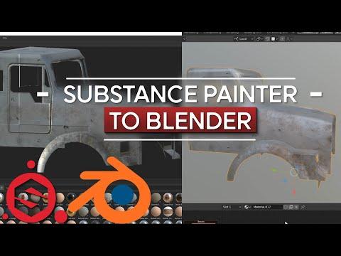 Substance Painter To Blender | Tutorial