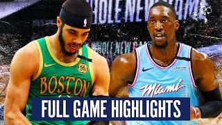 BOSTON CELTICS vs MIAMI HEAT - FULL GAME HIGHLIGHTS | 2019-20 NBA SEASON
