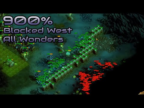 They are Billions - 900% No pause - Blocked West/All Wonders