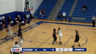 #4 Tates Creek vs #5 LCA - Girls 43rd District Tournament | Kholo.pk