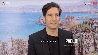 Paolo Matteuzzi | פאולו מטאוצי בראיון בלעדי בוועידת האדריכלות והעיצוב של מרכז הבנייה 2019