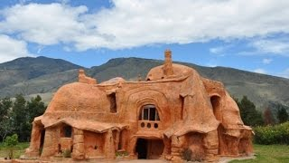 Colombia's Flintstone House Is Made Entirely from Baked Clay