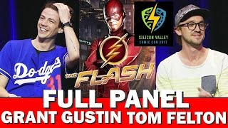 Том Фелтон, GRANT GUSTIN - THE FLASH - FULL PANEL SILICON VALLEY COMIC CON W/TOM FELTON
