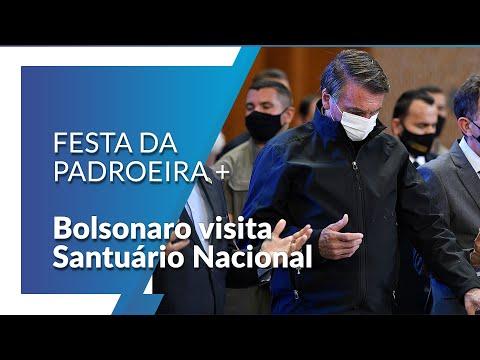 Bolsonaro visita Santuário Nacional