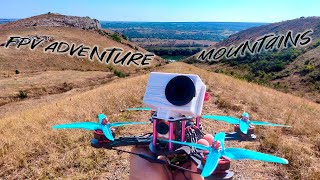 FPV ADVENTURE Mountains Two Sisters Drone FPV FREESTYLE