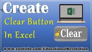 How to create Clear button in Excel | Macro Power