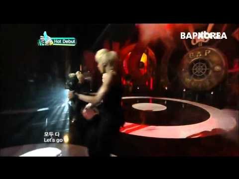 [720p] 120202 JTBC Music On Top  B.A.P - Burn It Up