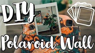DIY Polaroid Wall