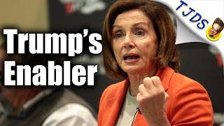 Pelosi Sides With Trump-Attacks AOC & Screws Immigrants