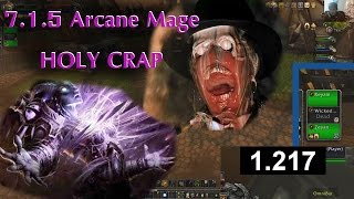 Arcane Mage ONE SHOT and other 7.1.5 Arena Ridiculousness!