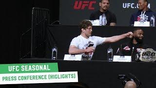 UFC Seasonal Press Conference Highlights (AKA: The Ben Askren Show)