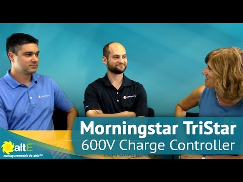 Morningstar TriStar MPPT 600V Charge Controller | Overview with Morningstar Corp