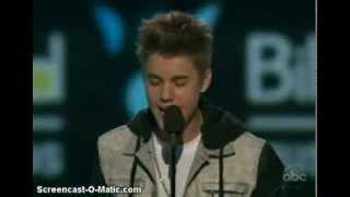 Justin Bieber wins Social Award at 2012 Billboard Awards EXCLUSIVE
