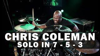 Meinl Drum Festival – Chris Coleman – Solo in 7 / 5 / 3