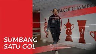 Kebahagiaan Virgil van Dijk seusai Cetak Gol ke Gawang Manchester United