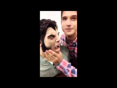 Teen Wolf Season 6 behind the scenes (snapchat)