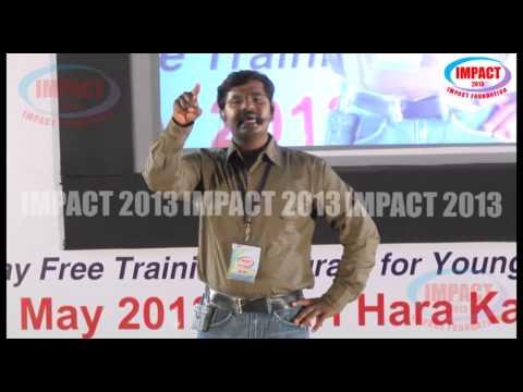 Resume Preparation|KVN Karthik|TELUGU IMPACT Hyd 2013