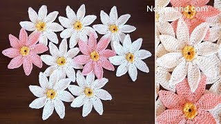 Crochet Flower EASY Pattern