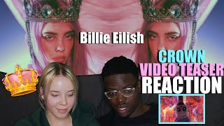 Billie Eilish - You Should See Me In A Crown (official Video By Takashi Murakami) - Teaser REACTION