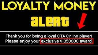 Rockstar Giving MORE FREE MONEY Than Expected! NEW Loyal GTA Online Player Bonus Explained!